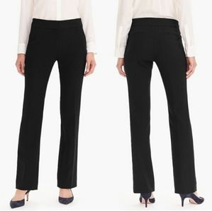 J. CREW Edie Black Pants Trousers Full Length